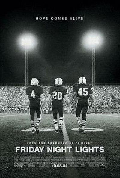 Picture of a movie: Friday Night Lights