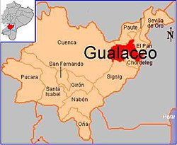 Location Gualaceo