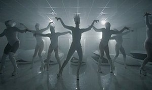 "Gaga's choreography from ""Bad Romance&quo..."