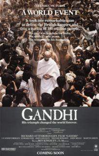 <i>Gandhi</i> (film) 1982 period biographical film
