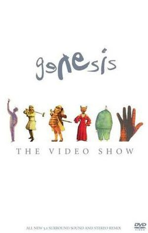 The Video Show - Image: Genesis The Video Show DVD cover