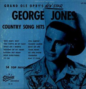Grand Ole Opry's New Star - Image: George Jones Debut