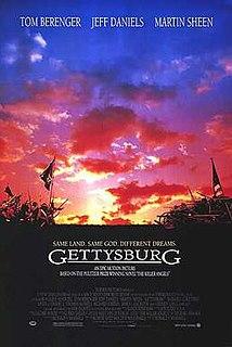 <i>Gettysburg</i> (1993 film) 1993 film by Ronald F. Maxwell
