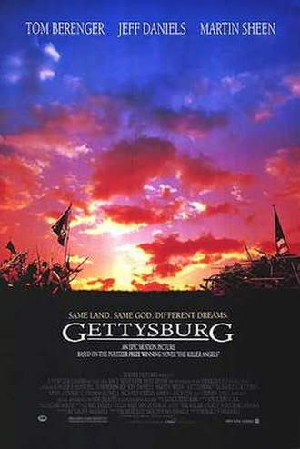 Gettysburg (1993 film) - Theatrical release poster