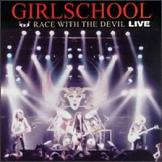 Race with the Devil Live - Image: Girlschool race with devil