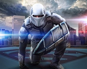 Guardian (DC Comics) - James Olsen (Mehcad Brooks) as Guardian in The CW's Supergirl