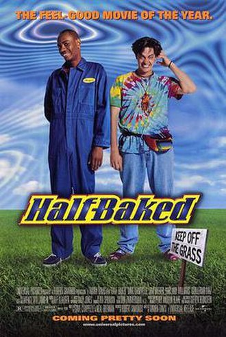 Half Baked - Theatrical release poster