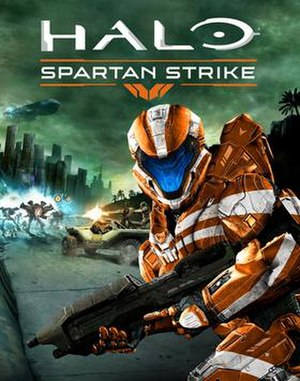 Halo: Spartan Strike - Image: Halo Spartan Strike cover art