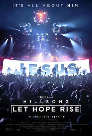 Hillsong: Let Hope Rise - Theatrical release poster