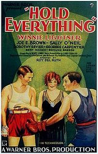 <i>Hold Everything</i> (film) 1930 film