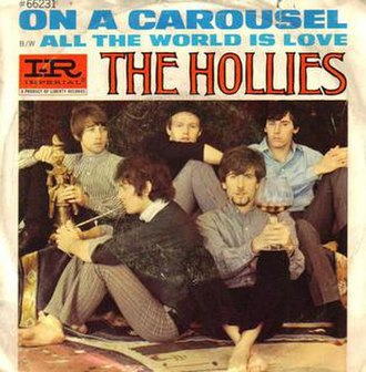 On a Carousel - Image: Hollies On a Carousel US