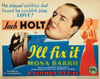 <i>Ill Fix It</i> 1934 film by Roy William Neill