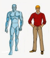 iceman as he appeared in spider man and his amazing friends