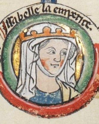 Isabella of England - Image: Isabella of England, Holy Roman Empress