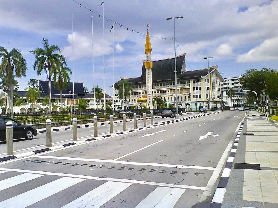 Jalan Sultan City center BSB Brunei