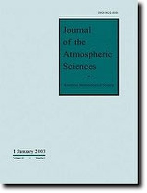 Journal of the Atmospheric Sciences - Image: Jascover