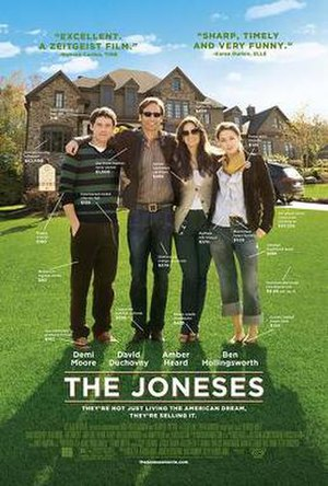 The Joneses - Theatrical release poster