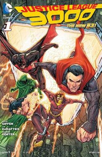 Justice League 3000 - Image: Justice League 3000