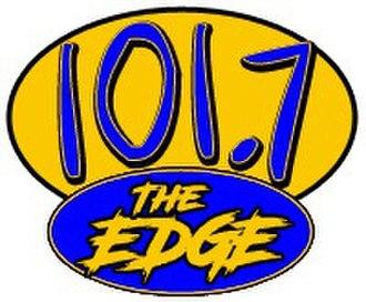 KEGE (FM) - Image: KEGE 101.7The Edge logo