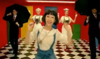 Ring a Ding Dong - Kimura in the music video.