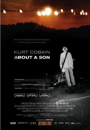 Kurt Cobain: About a Son - Theatrical release poster