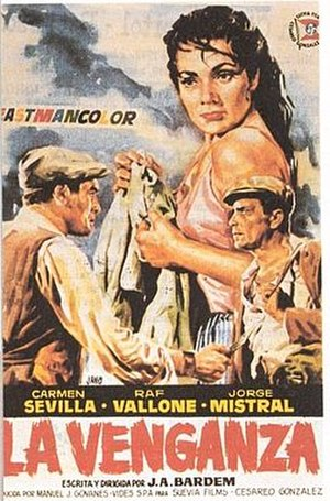 Vengeance (1958 film) - Theatrical release poster