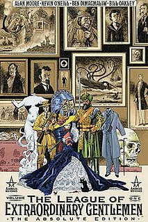<i>The League of Extraordinary Gentlemen</i> Comic book series by Alan Moore and Kevin ONeill