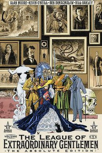 The League of Extraordinary Gentlemen - Cover of Volume I