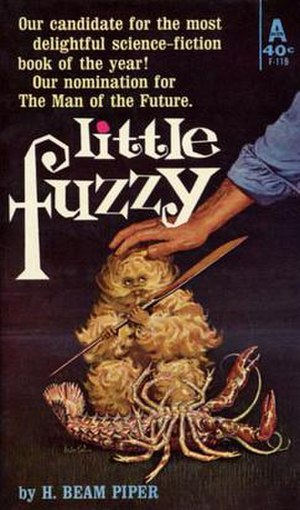 Little Fuzzy - 1962 Avon edition cover