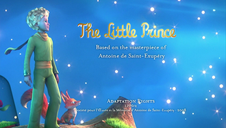 The Little Prince (2010 TV series) - English title card