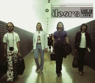 <i>Live in Vancouver 1970</i> 2010 live album by the Doors