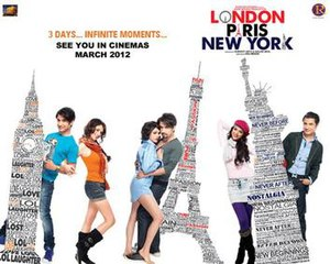London, Paris, New York - Theatrical release poster