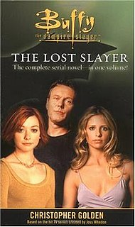 The Lost Slayer Is An Example Of Dozens Novels Taking Place In Fictional Buffyverse This Story Buffy Enters Alternate Reality That Makes