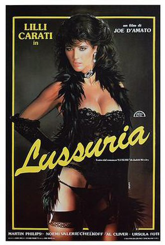 A Lustful Mind - Italian theatrical release poster by Enzo Sciotti