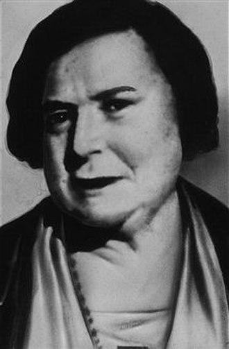 Ma Barker - Barker circa 1932.