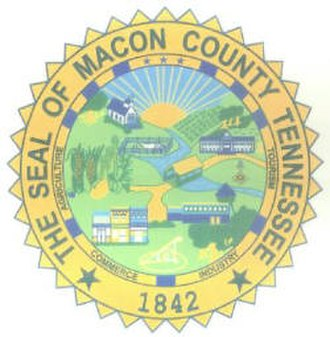 Macon County, Tennessee - Image: Macon County tn seal