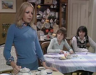 British sitcom - Man About the House showed the changing sexual mores and gender roles in the 1970s.