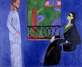 The Conversation (painting) - Image: Matisse Conversation