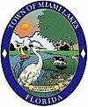 Sello oficial de Town of Miami Lakes