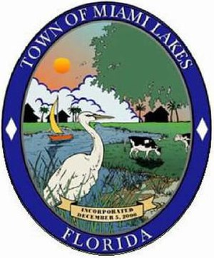 Miami Lakes, Florida - Image: Miami Lakes, Florida (city seal)