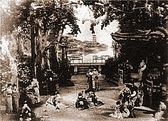 Rehearsal - Dress rehearsal of The Mikado, 1885