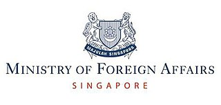 Runs the diplomatic relations of the Republic of Singapore with other countries