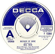 Mother Of Mine Song Wikipedia
