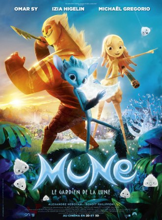 Mune: Guardian of the Moon - French theatrical release poster