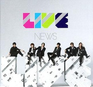 <i>Live</i> (NEWS album) 2010 studio album by NEWS