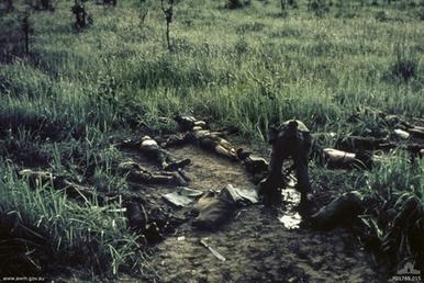 NVA dead outside FSB Coral 13 May 1968 (AWMP01769)