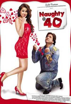 Naughty @ 40 - Theatrical release poster