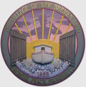New Bremen, Ohio - Image: New Bremen seal