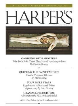 November 2004 Cover of Harper's Magazine