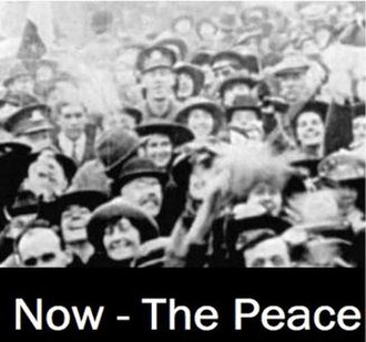 Now — The Peace - Screenshot of the title frame